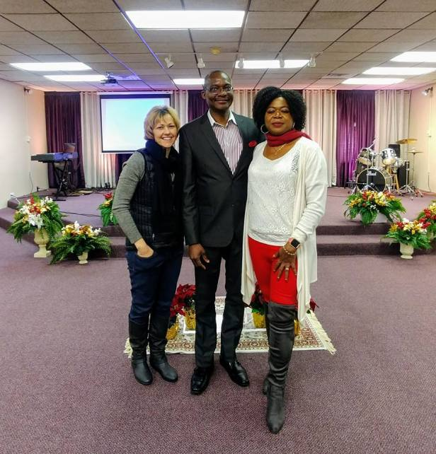 Me, Pastor Omotayo, Precious