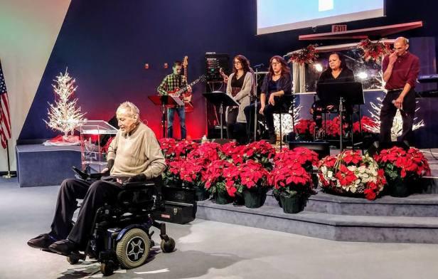 Pastor Wayne Ellston