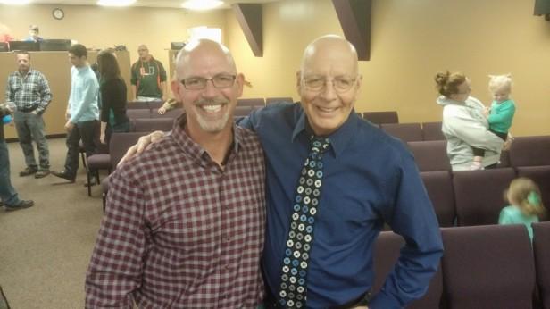 Joe & Pastor John Westfall - 5-15-16