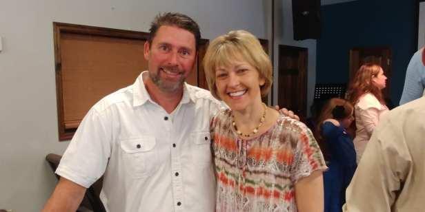 Me & Pastor Keith Davey